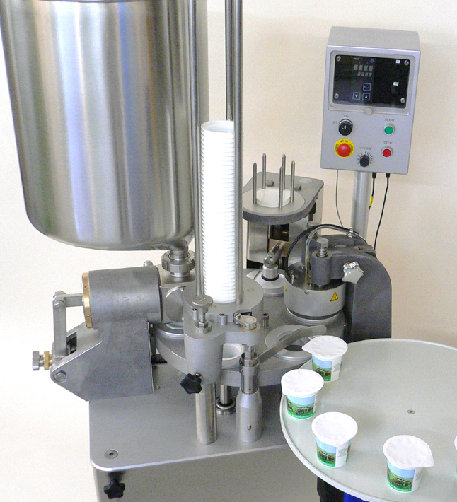 Filling machines for dairy products / yoghurt