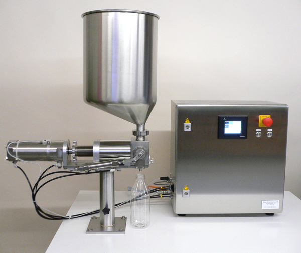 CUPFILLER with electronic control