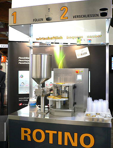 Presenting the ROTINO-CUPFILLER in Germany