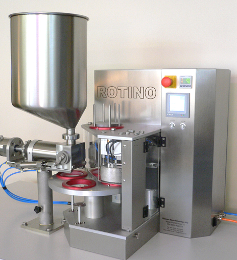 Filling system: ROTINO with CUPFILLER, standard version